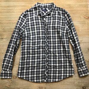 Gap Plaid Button Down Shirt